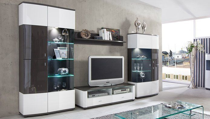 m bel wohnzimmer. Black Bedroom Furniture Sets. Home Design Ideas