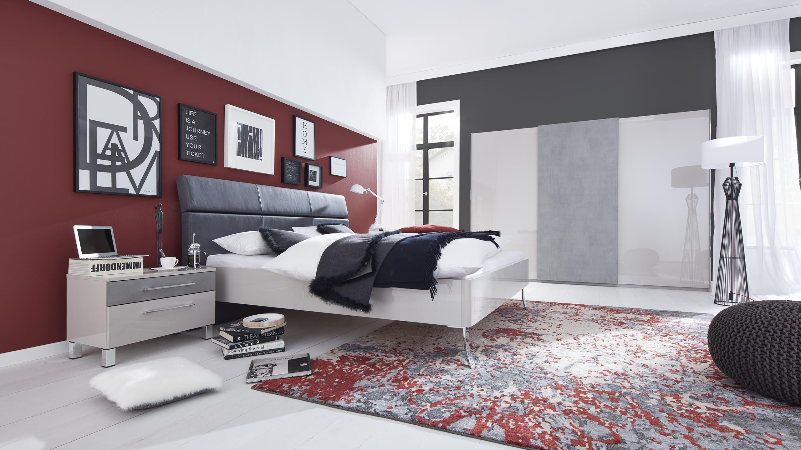 interliving schlafzimmer serie 1003 bett modern g nstig m bel schaumann. Black Bedroom Furniture Sets. Home Design Ideas