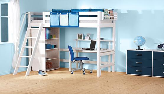 Etagenbett Günstig Kaufen : Blaue etagenbetten günstig online kaufen purovivo™ möbelwelt