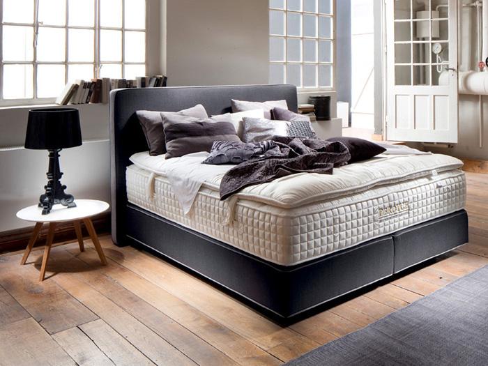 schlafzimmer mit boxspringbetten schlafkultur und