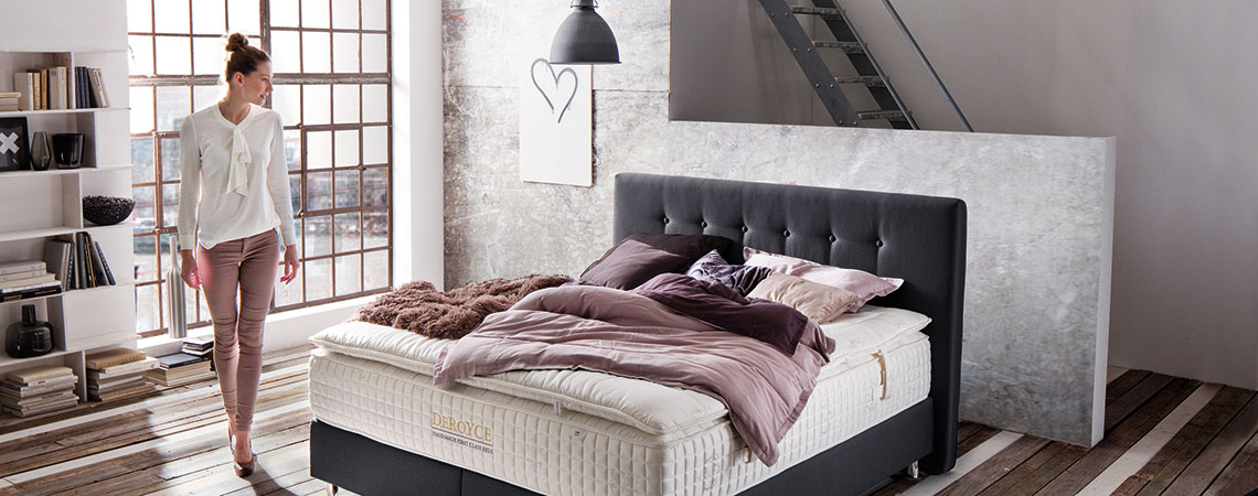 neu luxus boxspringbetten m bel schaumann kassel. Black Bedroom Furniture Sets. Home Design Ideas