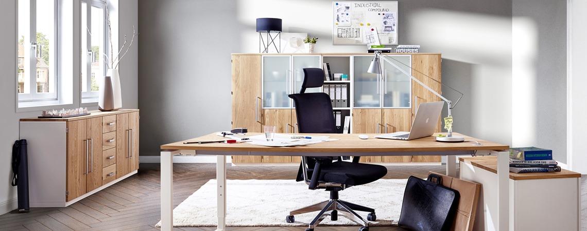 schreibtische kaufen b rotische m bel schaumann kassel. Black Bedroom Furniture Sets. Home Design Ideas