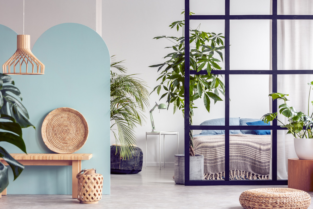 Urban Jungle Schlafzimmer