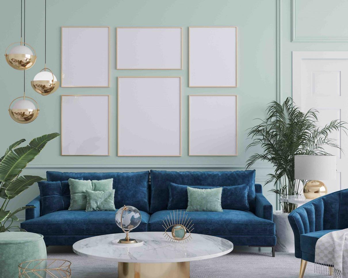 Art Deco Wohnzimmer